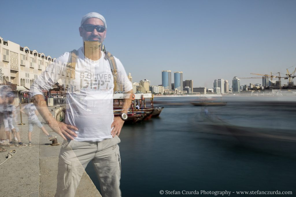Ghost Selfie Dubai Creek