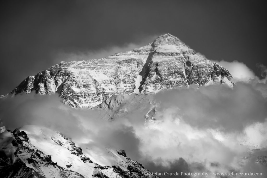 Mount Everest von Tibet