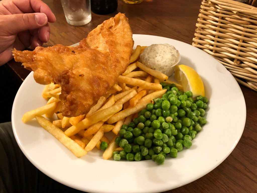 Fish and Chips in Schottland