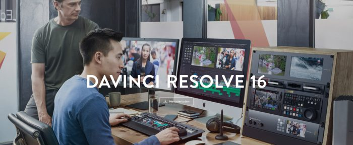 Davinci Resolve zum Video erstellen