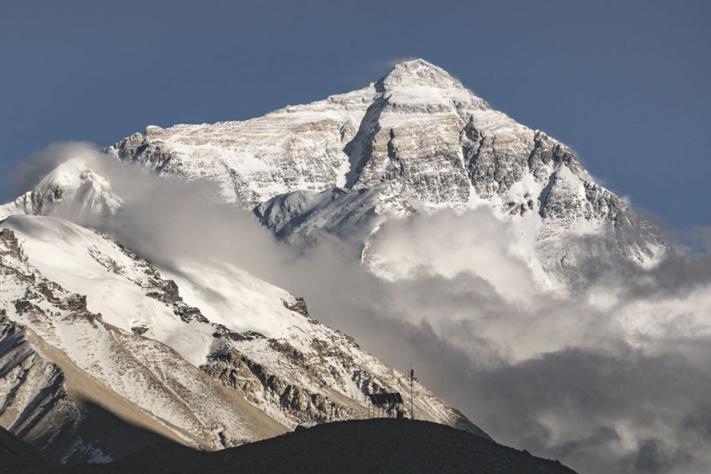 Mount Everest Nordseite