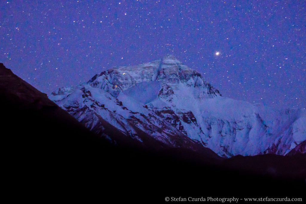 Astrofotografie Mount Everest-1