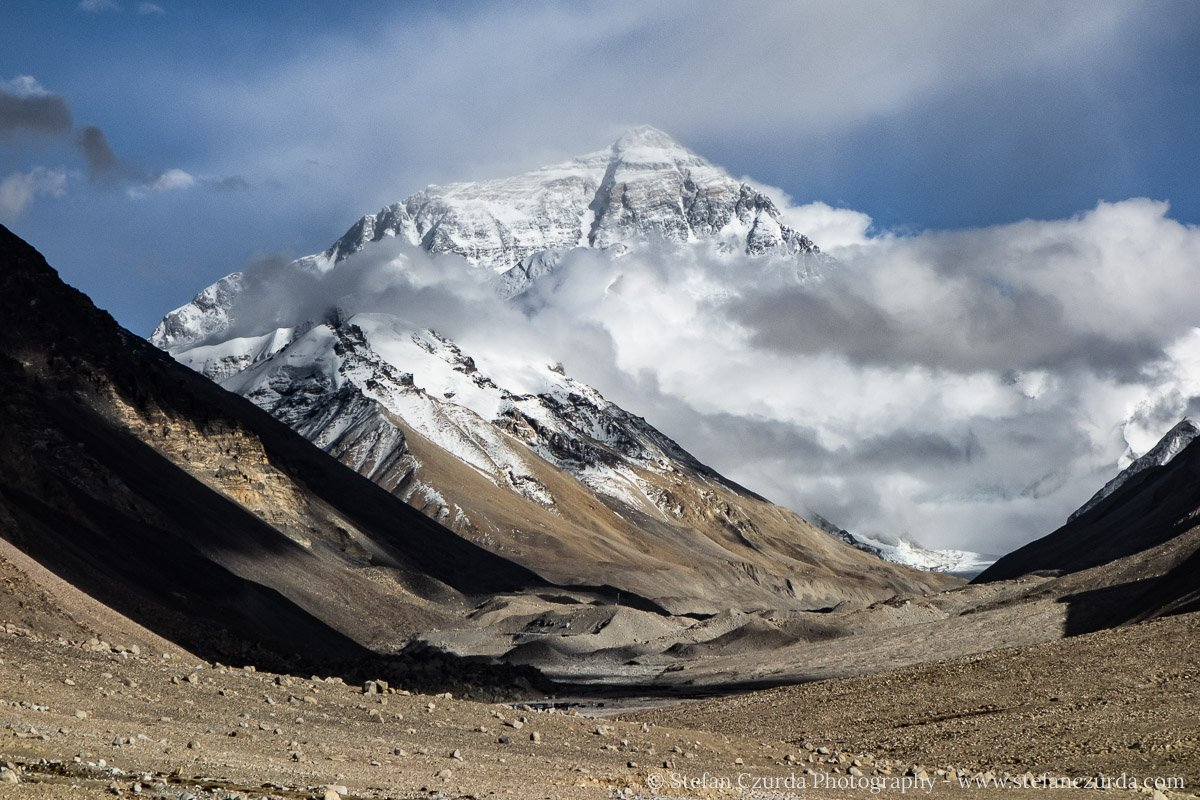 Mount Everest Nordseite Tibet