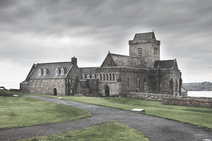 Iona Abbey Isle of Mull