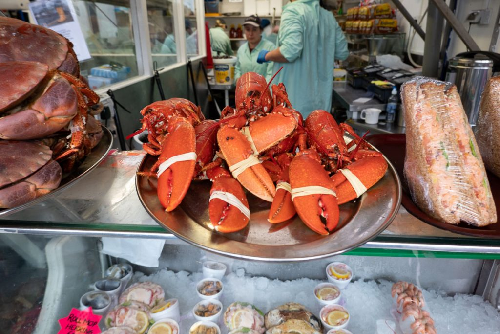 Seafood in Oban