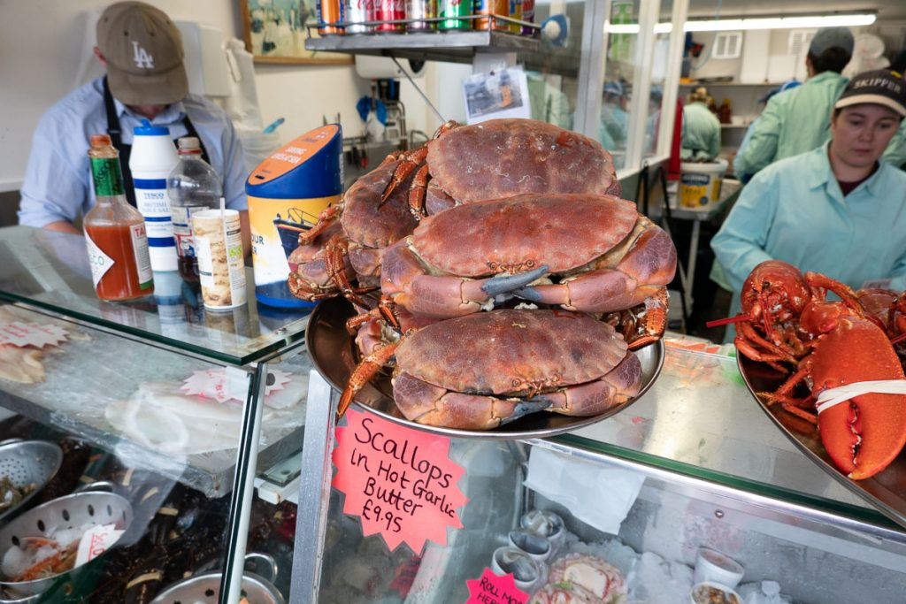 Seafood in Oban 2
