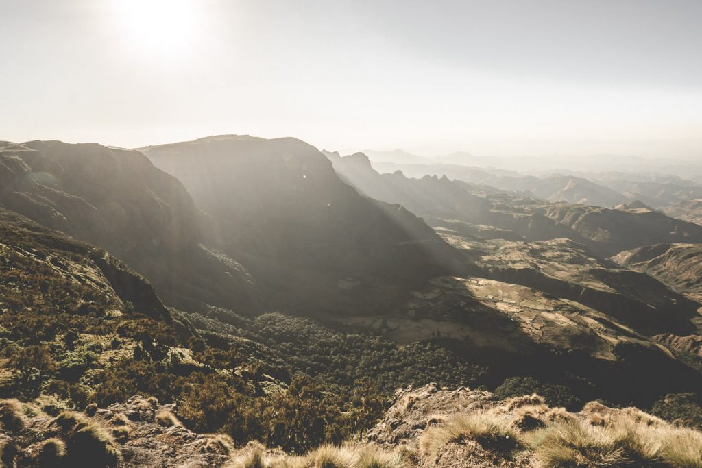 Wandern in den Simien Mountains