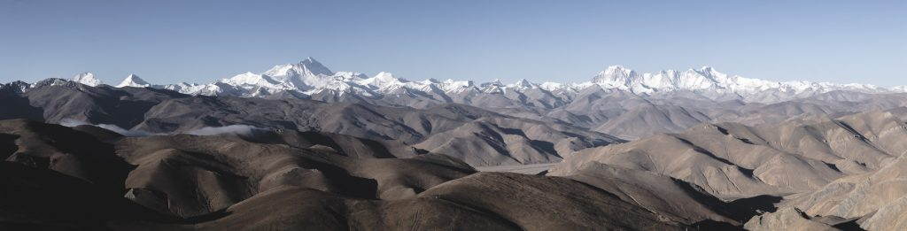 Bergpanorama Mount Everest